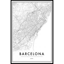 Barcelona In Spain Map.Barcelona Spain Map