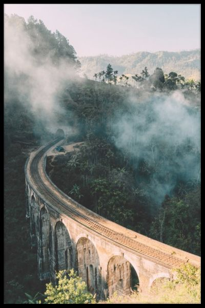 Nine Arch Bridge Sri Lanka Poster