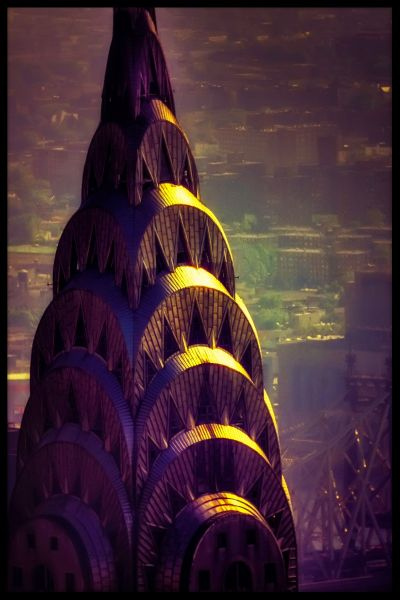 Chrysler Building N02 Poster