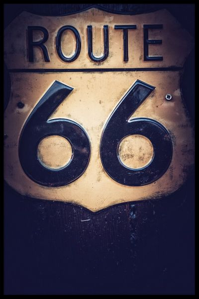 Route 66 N03 Poster