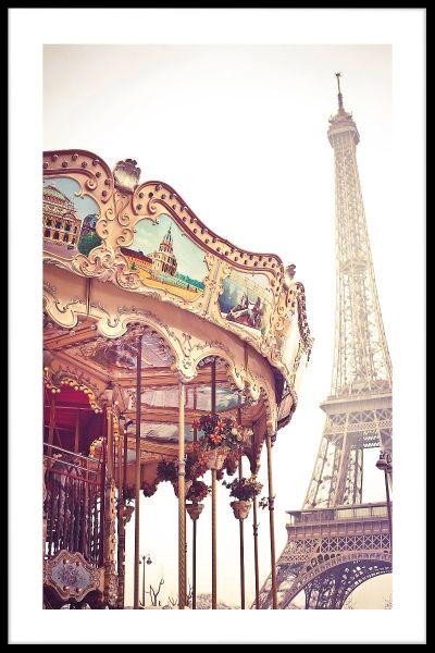 Paris Tivoli Poster
