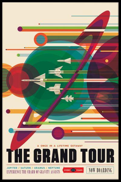 NASA Grand Tour Poster