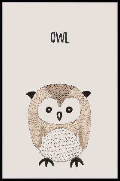 Owl Kids Poster