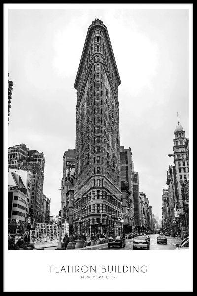 Flatiron Building Poster