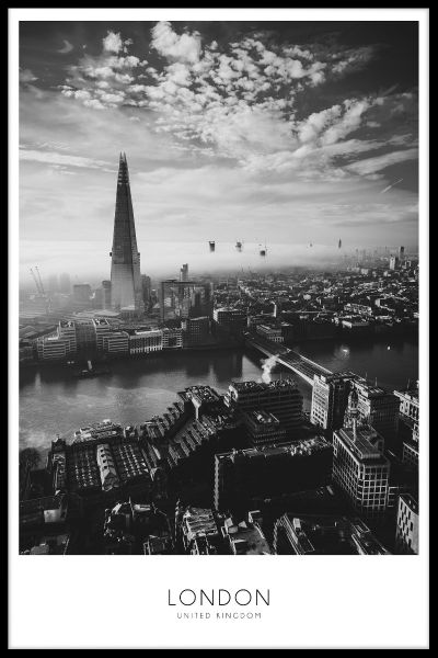 London N02 Poster