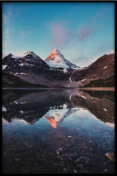 Mountain Reflections N01 Poster