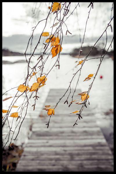 Autumn Archipelago Poster