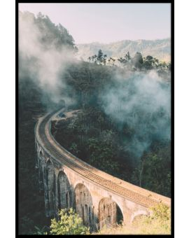 Nine Arch Bridge Sri Lanka Poster