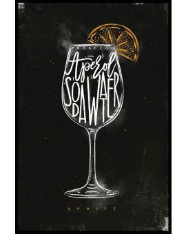 Spritz Cocktail Poster
