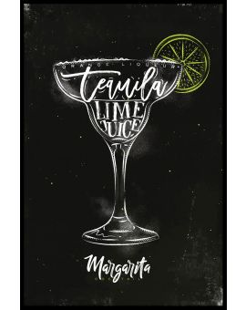 Margarita Cocktail Poster