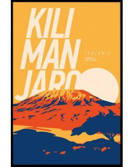 Kilimanjaro Vintage N02 Poster