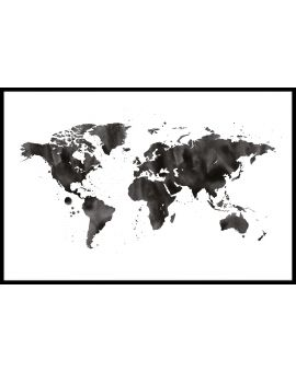 World Map N05 Poster