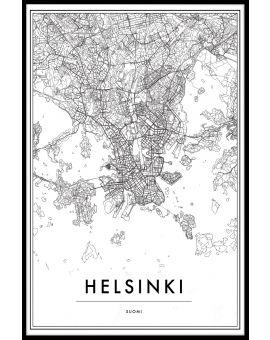 Helsinki Map Poster