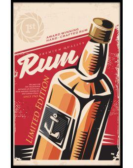 Rum Vintage Poster