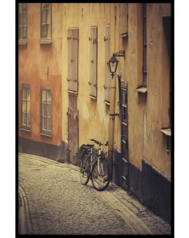 Narrow Street Old Town Poster
