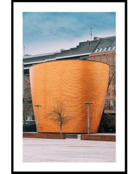 Helsinki Kamppi Chapel Poster