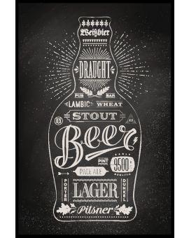 Bottle of Beer Poster