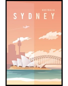 Sydney Travel Poster