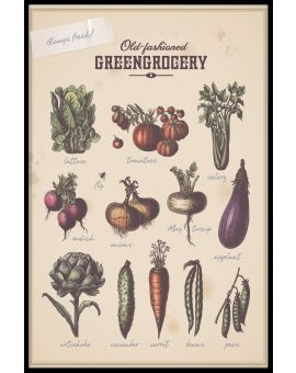 Greengrocery Poster
