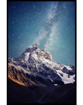 Beautiful Starry Night Poster