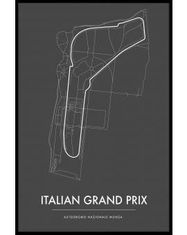 Monza Italian GP Poster