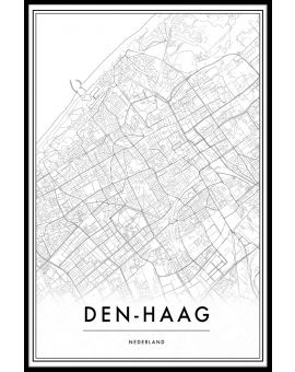 Den Haag Map Poster