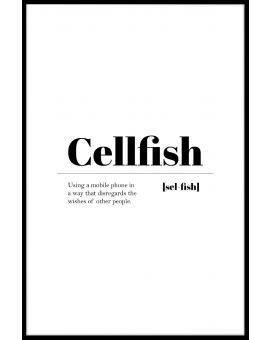 Cellfish Poster