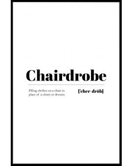 Chairdrobe Poster