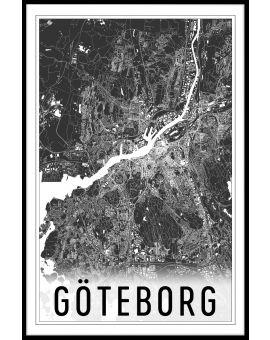Göteborg Map N02 Poster
