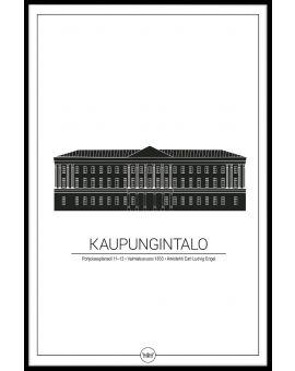Helsinki City Hall Poster