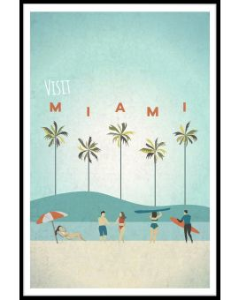Visit Miami Poster