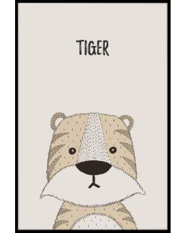 Tiger Kids Poster