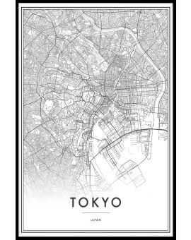 Tokyo Map Poster