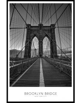 NYC Brooklyn Bridge Poster