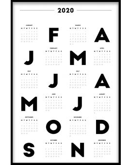 Calendar N01 Poster